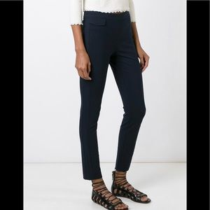 Tory Burch  stretch cotton blend skinny trousers